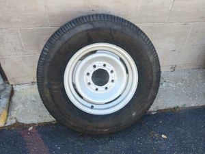 classic steel chevy or gmc rim. 8 lug, good spare or replacement for Sale in Montebello, CA
