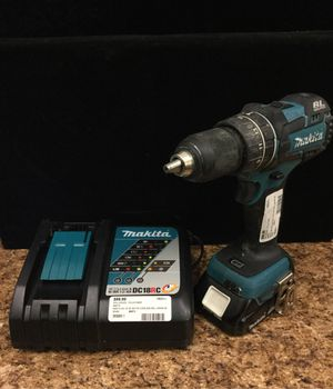 """Makita XPH06 1/2"""" BL Motor Cordless Drill Driver W/ Battery & Charger for Sale in Pomona, CA"""