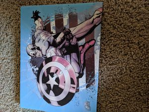 Captain America wall decor for Sale in Puyallup, WA