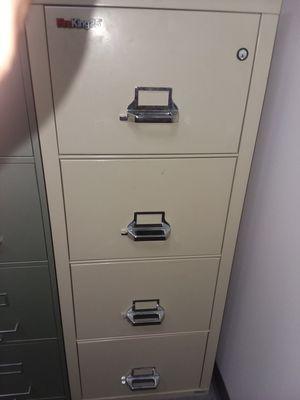 Fire King fireproof file cabinets w/key for Sale in Oak Park, MI