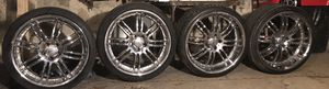 20 inch rims 5 lug for Sale in Dedham, MA