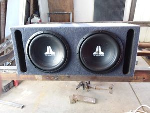 Subwoofers, JL Audio 12in speakrs for Sale in Bakersfield, CA