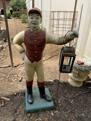 Vintage lawn jockey for Sale in Annville, PA