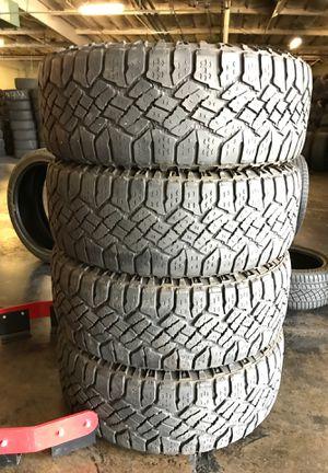 Set of used tires 275 55 20 GOOD YEAR for Sale in San Bernardino, CA