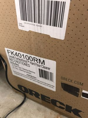 Hard floor cleaner Oreck for Sale in Santee, CA