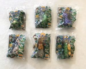 Lot Of 6 1997 Burger King Kids Club The Land Before Time Collection Vintage Toys for Sale in Bellflower, CA