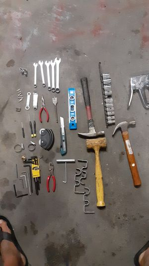 An assortment of household tools. for Sale in Riverside, CA