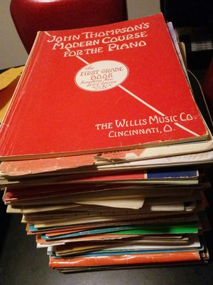 Stack of Piano Learning Books for Sale in Delray Beach, FL