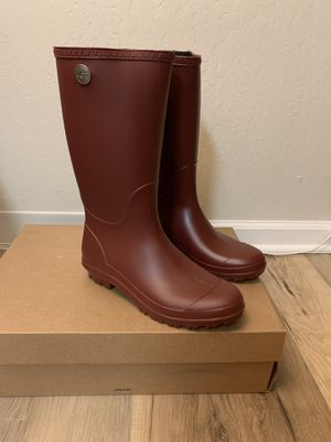 100% Authentic Brand New in Box UGG Shelby Matte Rain Boots / Women size 10 and women size 12 for Sale in Lafayette, CA