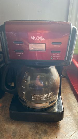 Mr Coffee coffee maker for Sale in Burkeville, VA