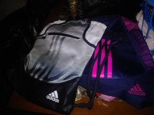Adidas drawstring bags 15 a piece for Sale in Abilene, TX