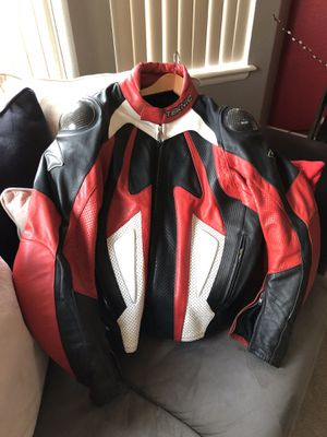 TEKNIC motorcycle leather jacket XL for Sale in Denver, CO