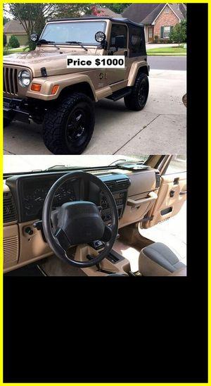 ֆ1OOO Jeep Wrangler for Sale in San Jose, CA