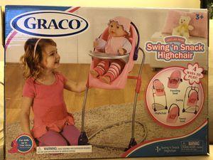 Graco Swing'n Snack Highchair 4-1 for Sale in Springfield, VA