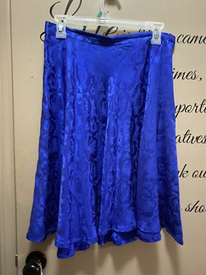 Absolutely Beautiful Royal Blue Skirt Size 12 for Sale in Cheyenne, WY