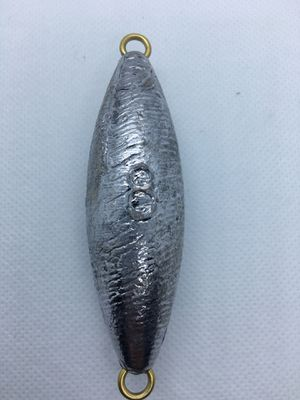 Dolphin tackle torpedo 8 oz fishing sinker lead weight for Sale in Yorba Linda, CA