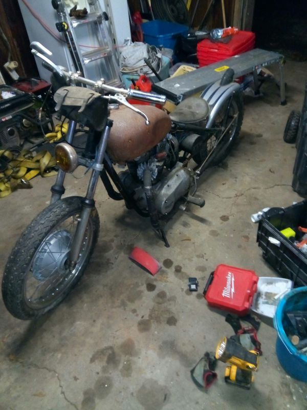 1963 triumph Bonneville motorcycle original bike