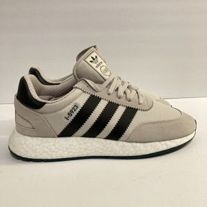 Adidas Originals I-5923 Boost Men's Running Shoes Chalk Pearl Sneakers D96992 for Sale in Fresno, CA