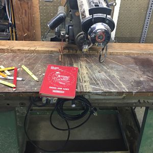 Craftsman Radial Arm Saw And Stand for Sale in Hoquiam, WA