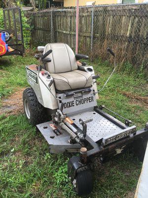 Dixie chopper lawn Mower for Sale in West Palm Beach, FL
