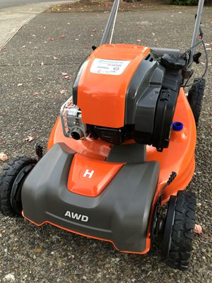 Holy Husqvarna AWD Self Propelled Lawn Mower / Lawnmower for Sale in Portland, OR