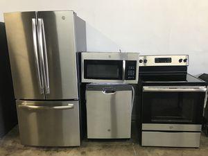 Brand new GE stainless steel kitchen Appliances set for Sale in Phoenix, AZ