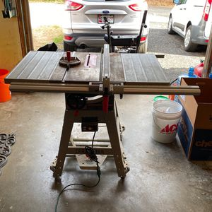 "Craftsman 10"" Table Saw With Roller Stand for Sale in Crownsville, MD"