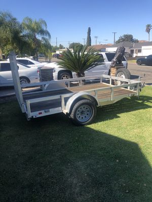 Aluminum utility trailer for Sale in Anaheim, CA