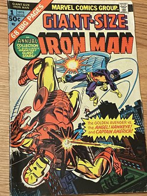 Giant size Iron Man 1 from 1975 for Sale in Millersville, MD