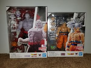 SH Figuarts Dragonball Z Jiren & Goku for Sale in Ventura, CA