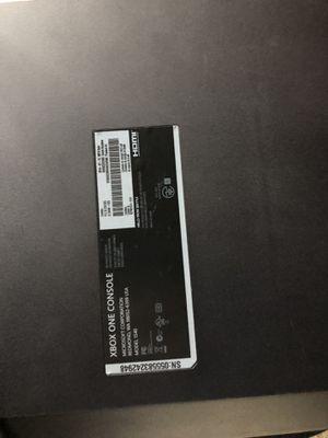 Xbox One for Sale in Bremerton, WA