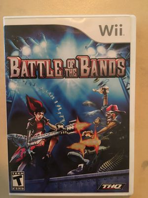Nintendo Wii battle of the bands for Sale in Visalia, CA
