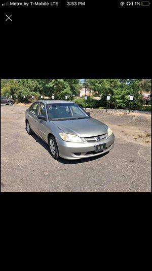 2004 Honda Civic for Sale in Trenton, NJ
