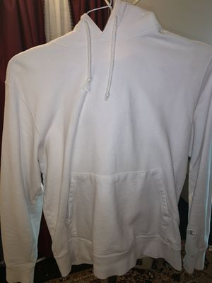 White vintage champion hoodie size M ( fits small ) for Sale in Takoma Park, MD