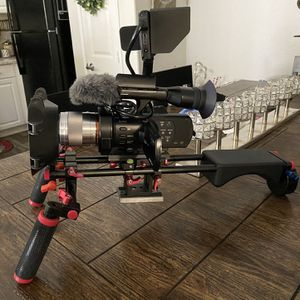 Full Frame Video Camera Set Up for Sale in Moreno Valley, CA