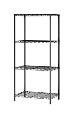 4-Tier Wire Shelving 4 Shelves Unit Metal Storage Rack Durable Organizer for Sale in Claremont, CA