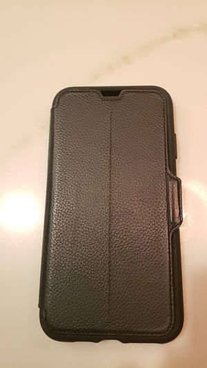 Otterbox Leather Folio Case Strada Series iPhone Xs Max for Sale in San Jose, CA