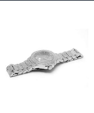 """Charles Raymond """"Bling"""" (8424) Stainless Steel Men's Watch for Sale in Silver Spring, MD"""