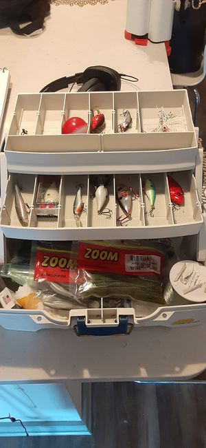 Stocked Tackle Box for Sale in Dallas, TX