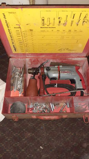 Hilti Tm-7 with Metal Case and Accessories for Sale in Indianapolis, IN