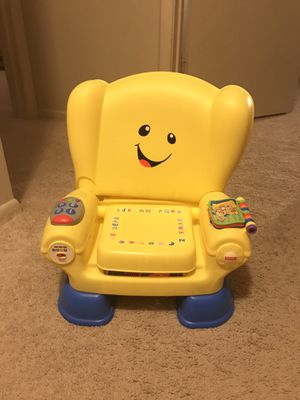 Fisher price laugh and learn smart chair for Sale in Beaumont, TX
