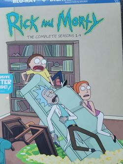 RICK AND MORTY SEASON 1-4 COMPLETE SERIES for Sale in Laveen Village,  AZ