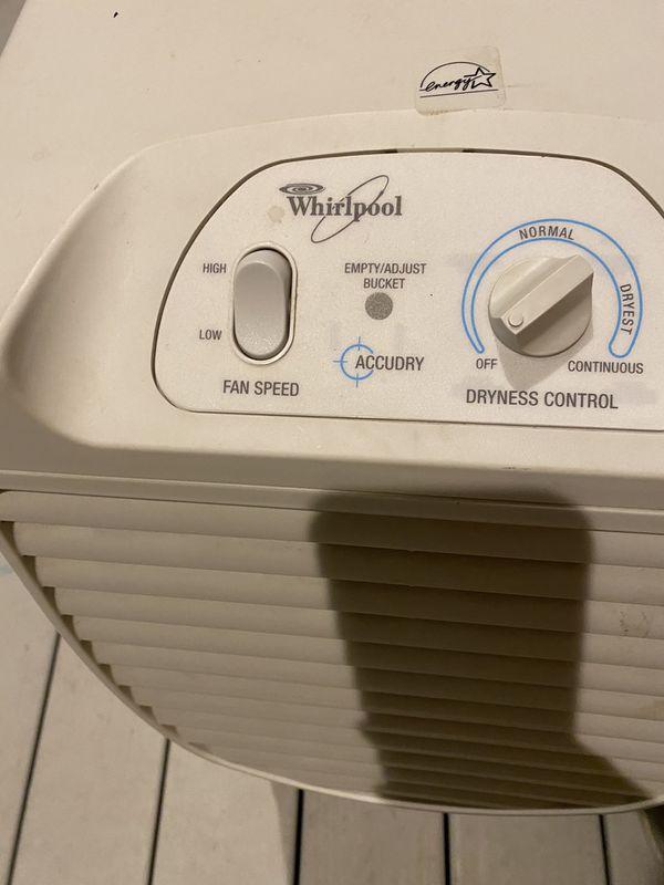 Dehumidifier - whirlpool