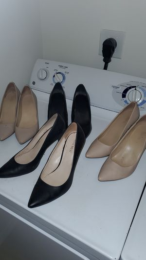 4 Pairs of Women's Michael Kors and Nine West Heels Size 8 for Sale in Delray Beach, FL