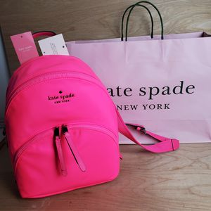 kate spade NWT backpack neon pink for Sale in Glendale, CA