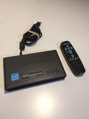 Analog to digital TV converter with remote for Sale in Portland, OR