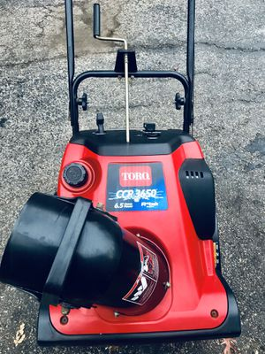 Toro CCR3650 6.5hp starts at first pull r-tek engine for Sale in Westmont, IL
