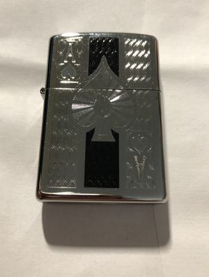 Zippo Windproof High Polished Chrome Ace Of Spades Lighter for Sale in Dracut, MA