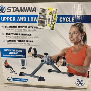 Free Shipping Stamina Upper & Lower Body Cycle Workout Compact Cardio Mobility for Sale in Hartford, CT