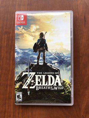 The Legend of Zelda Breath of the Wild for Sale in Covina, CA